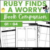 Ruby Finds a Worry by Tom Percival Graphic Organizer Compa