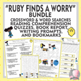 Ruby Finds a Worry Percival BUNDLE Reading Comprehension,