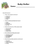 Ruby Holler Comprehension Questions