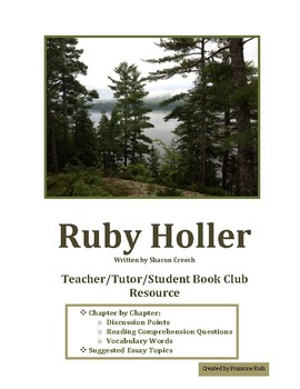 Ruby Holler Teacher/Tutor/Student Enrichment Resource