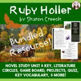 Ruby Holler Novel Study Unit Bundle
