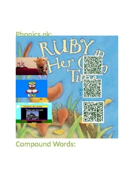 Ruby In Her Own Time Concepts with Q.R.Codes