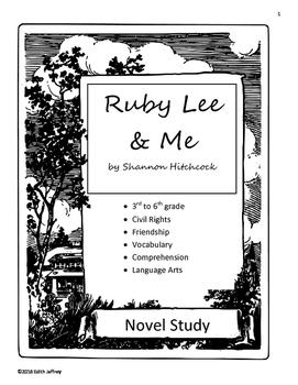 Ruby Lee & Me Novel Unit