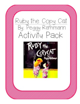 Ruby The Copy Cat Activity Pack