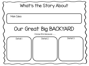 Our Great Big BACKYARD     42 pgs. Common Core Activities