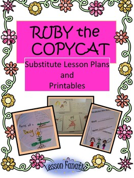 Ruby The Copycat A Printable Unit And Sub Plans By Lesson