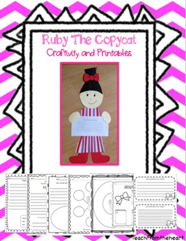 Ruby the Copycat Craftivity & Printables