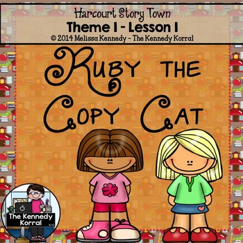 StoryTown Lesson 1 {Ruby the Copy Cat - 3rd Grade}