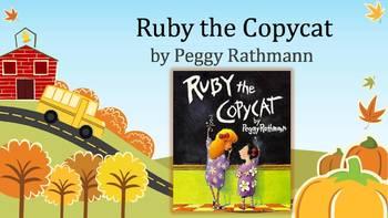 Ruby the Copycat, Rathmann, Text Talk, Collaborative Conversations