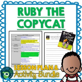 Ruby the Copycat by Peggy Rathmann Lesson Plan and Activities