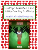 Rudolph Math Number Line Craftivity