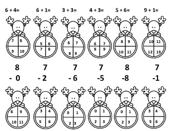Rudolph Addition and Subtraction Within 10