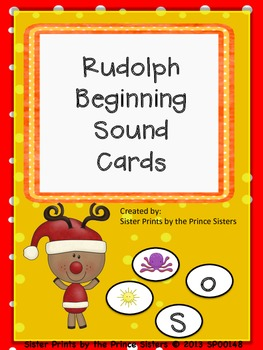Rudolph Beginning Sound Cards
