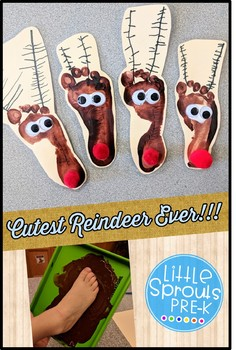 Rudolph Christmas Activity and Craft - FREE