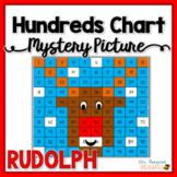 Free Rudolph Hundreds Chart Christmas Math Activities
