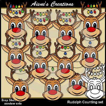 Rudolph Counting Set
