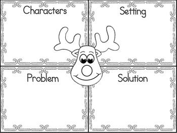 Rudolph Graphic Organizer