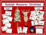 Reindeer Measures Christmas / Math / Craft / Booklet / Kindergarten