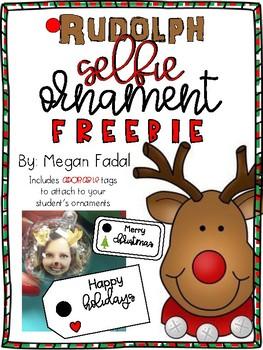 Rudolph Ornament FREEBIE