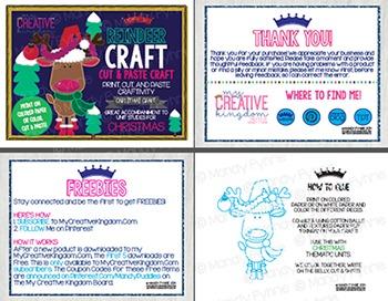 Rudolph Reindeer Christmas Craft