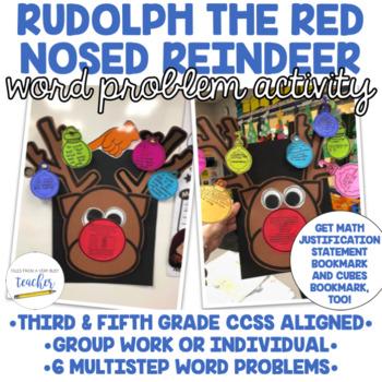Rudolph Reindeer Math Activity