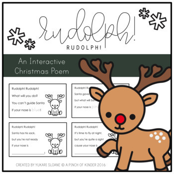 Rudolph! Rudolph! An Interactive Christmas Poem
