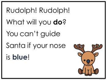Rudolph! Rudolph! An Interactive Christmas Poem
