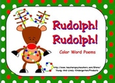 Rudolph! Rudolph! Color Poem Powerpoint