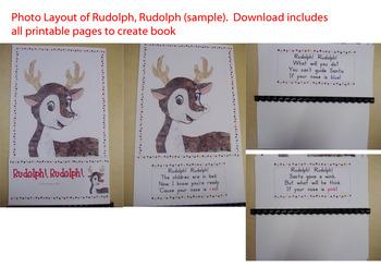 Rudolph, Rudolph Interactive Book: Printable!