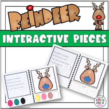 Rudolph the Red Nosed Reindeer Adapted Book