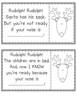 Rudolph! Rudolph! Rhyming Book