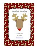 Christmas Activity - Rudolph Rudolph - Poem - Make a Book