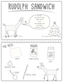 Rudolph Sandwich: A Christmas Party Sequencing Activity