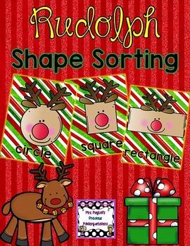 Rudolph Shape Sorting