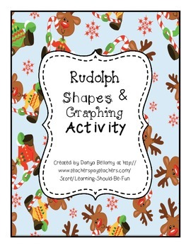 Rudolph Shapes & Graphing Activity