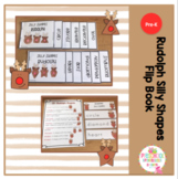 Rudolph Silly Shapes Flip Books