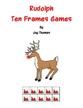 Rudolph Ten Frames Games