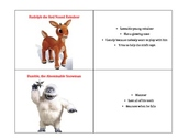 Rudolph The Red Nosed Reindeer Character Cards