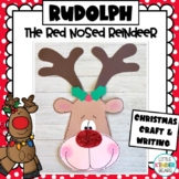 Rudolph The Red Nosed Reindeer Craft: Christmas Craft: December Craft