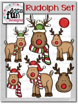 Rudolph The Red-Nosed Reindeer Clip Art