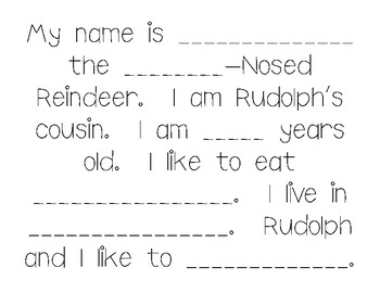 Rudolph Writing