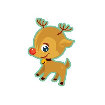 Rudolph deer, XMas, Holidays, free, Santa, gift