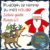 French Christmas, Rudolph et le Pere Noel, Lecture guidee,