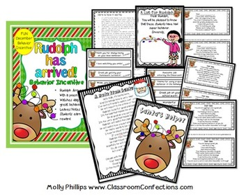Christmas Behavior Incentive: Behavior Management  (alternative to an elf)