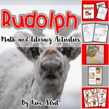Christmas Rudolph By Kim Adsit Teachers Pay Teachers