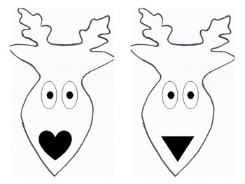 Rudolph nose shape shadow game