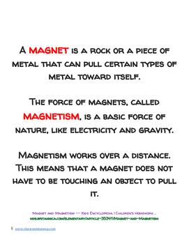 Rudolph's Magnet Mission - Hands On Magnet Investigation