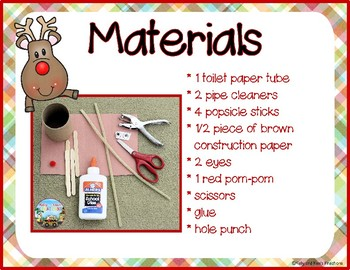 Rudolph's Reindeer Replacement! {a STEM lesson with Christmas fun}