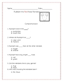 Rudolph the Red Nose Reindeer Comprehension Questions