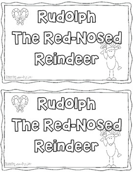 Rudolph the Red Nose Reindeer songbook